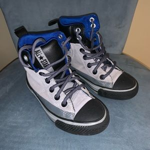 Converse suede sneakers